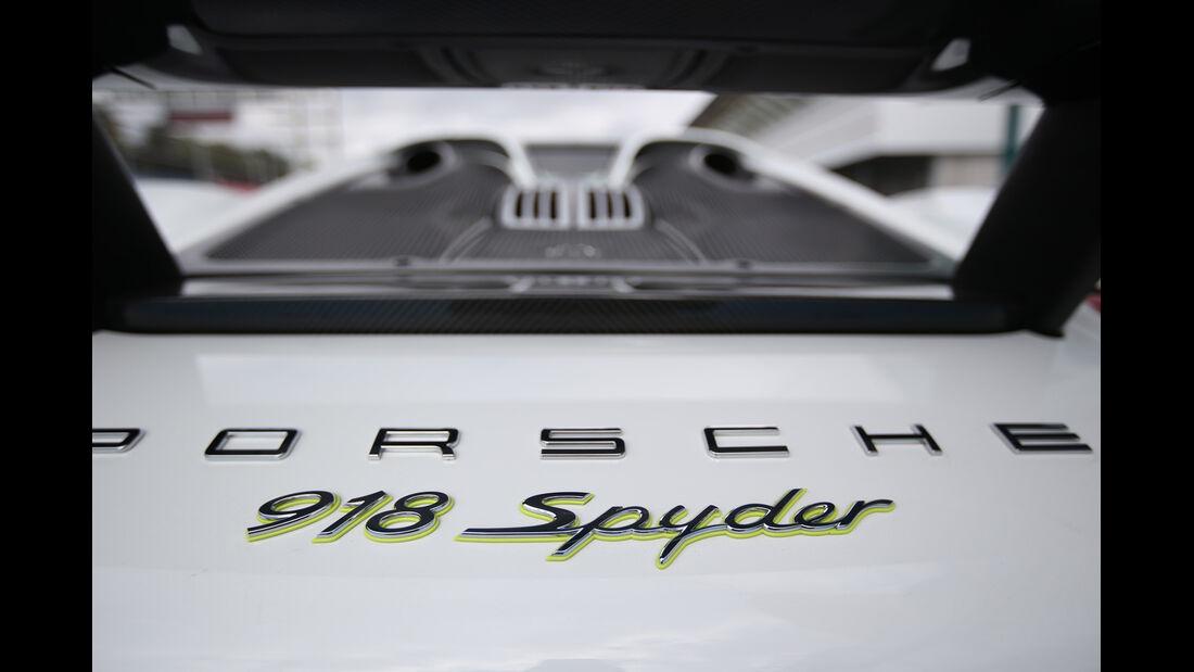 Porsche 918 Spyder, Typenbezeichnung