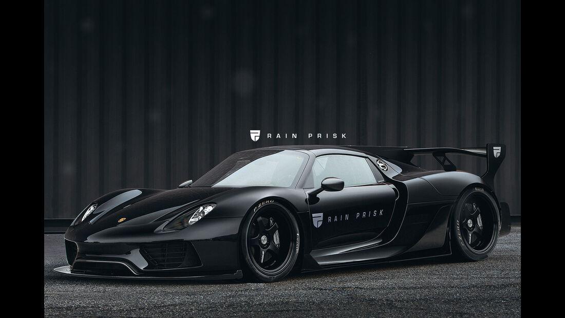 Porsche 918 Spyder Widebody - Design-Konzept - Grafikkünstler Rain Prisk