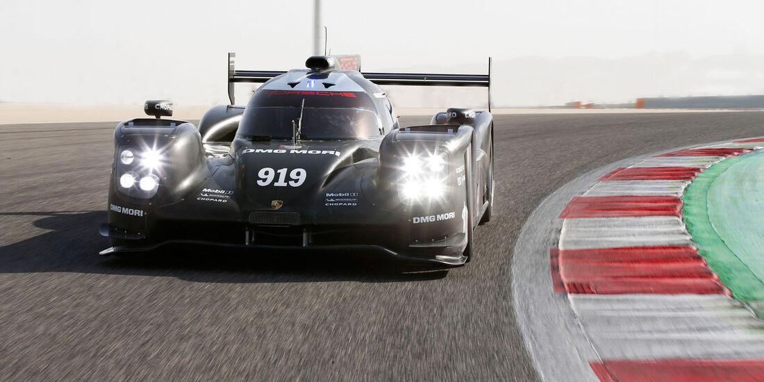 Porsche 919 Hybrid (2015) - LMP1 - Testfahrten - Aragon - März 2015