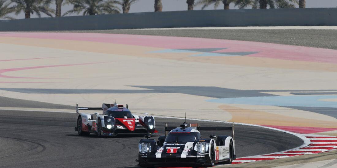 Porsche 919 Hybrid - Bernhard, Webber, Hartley - WEC - Sportwagen-WM - Bahrain 2016