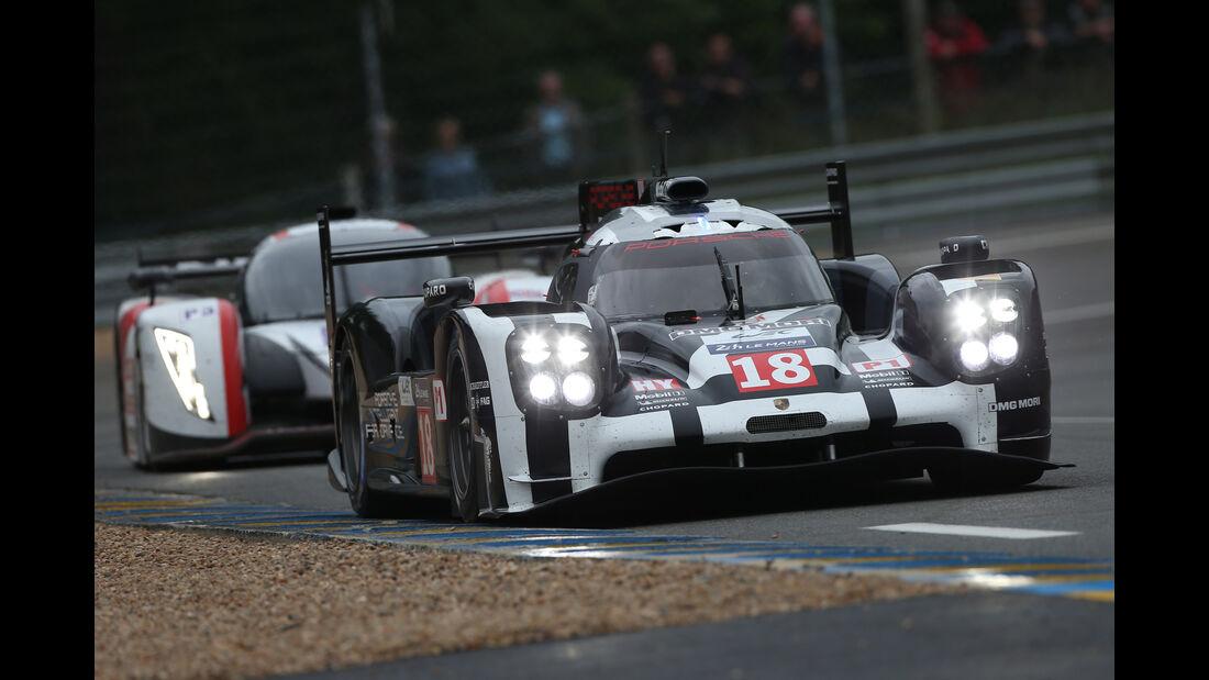 Porsche 919 Hybrid - Le Mans-Vortest 2015