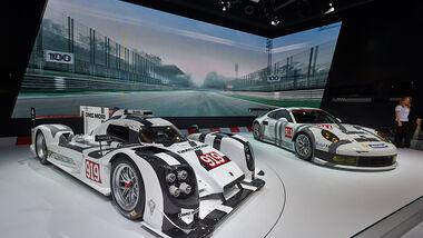 Porsche 919 Hybrid & Porsche 911 RSR - Autosalon Genf 2014