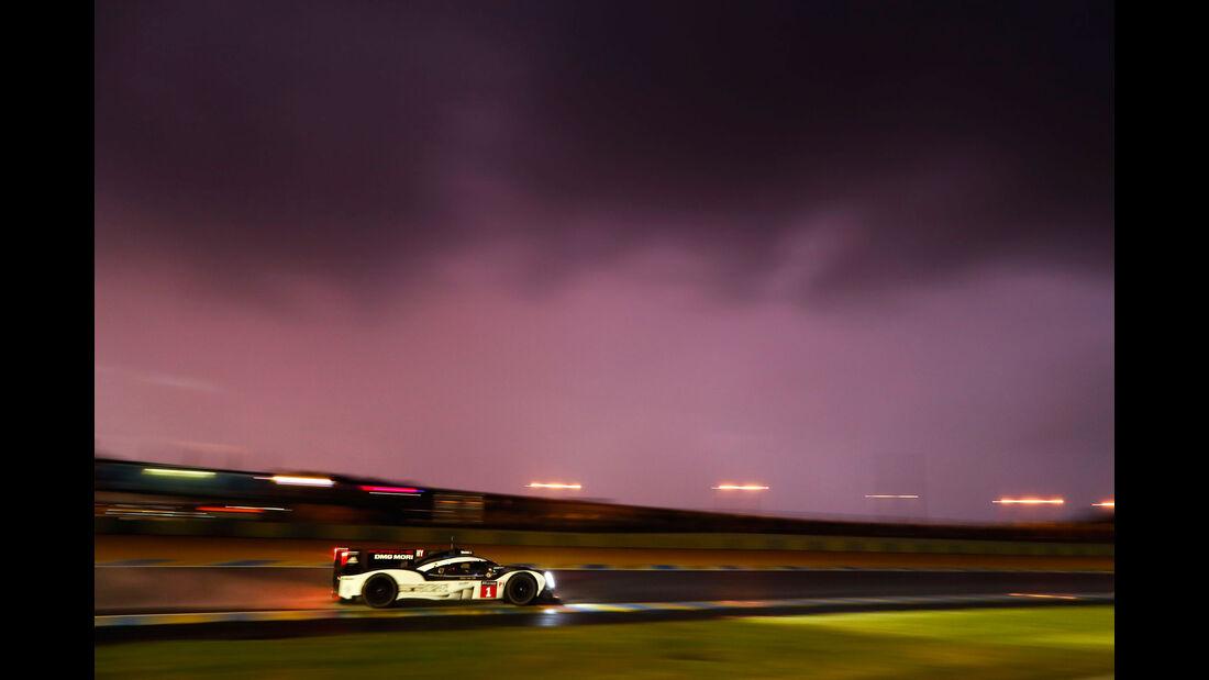 Porsche 919 Hybrid - Startnummer 1 - 24h-Rennen Le Mans 2016 - Donnerstag - 16.6.2016