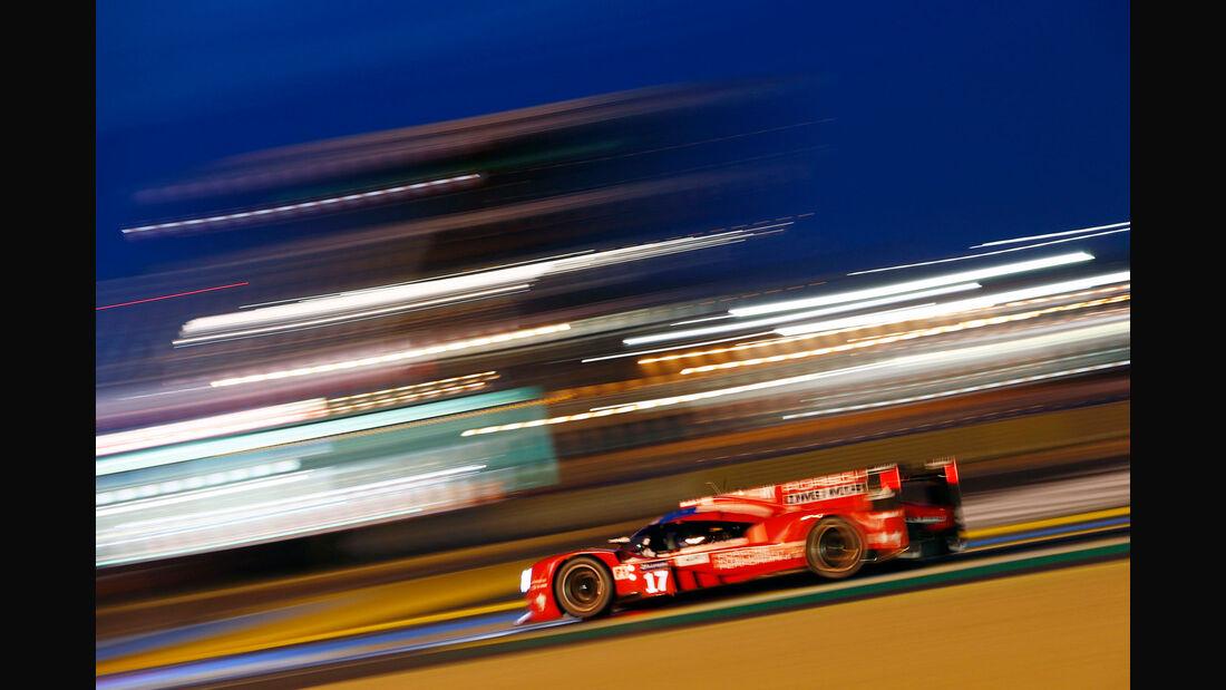 Porsche 919 Hybrid - Startnummer #17 - 24h-Rennen Le Mans 2015 - Donnerstag - 12.6.2015
