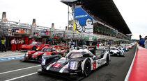Porsche 919 Hybrid - Startnummer 2 - 24h-Rennen Le Mans 2016 - Donnerstag - 16.6.2016