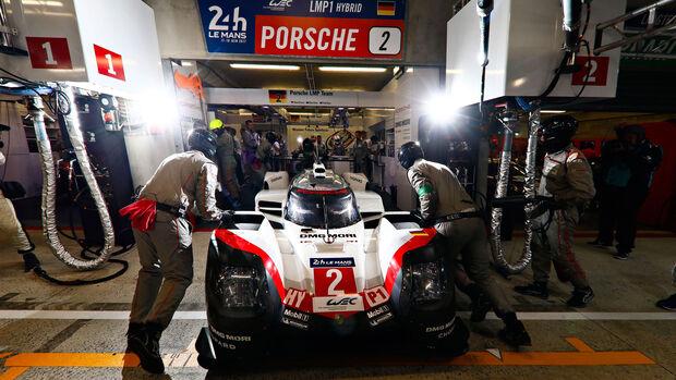 Porsche 919 Hybrid - Startnummer #2 - 24h-Rennen Le Mans 2017 - Qualifying