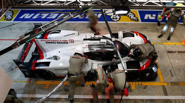 Porsche 919 Hybrid - Startnummer #2 - 24h-Rennen Le Mans 2017 - Sonntag - 18.6.2017