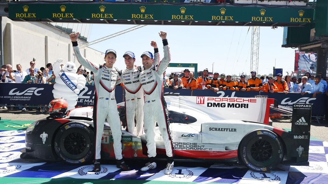 Porsche 919 Hybrid - Startnummer #2 - Hartley - Bamber - Bernhard - 24h-Rennen Le Mans 2017