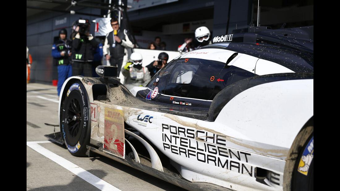 Porsche 919 Hybrid - Technik-Check - WEC / Le Mans 2016