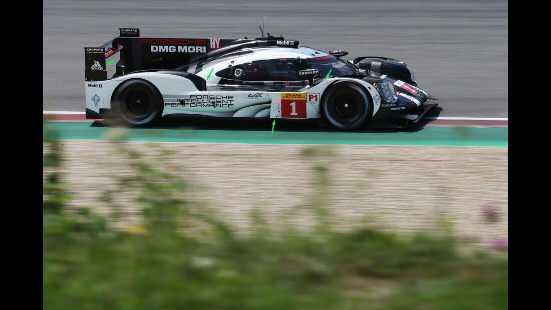 Porsche 919 Hybrid - WEC - LMP1 - Technik - Nürburgring 2016