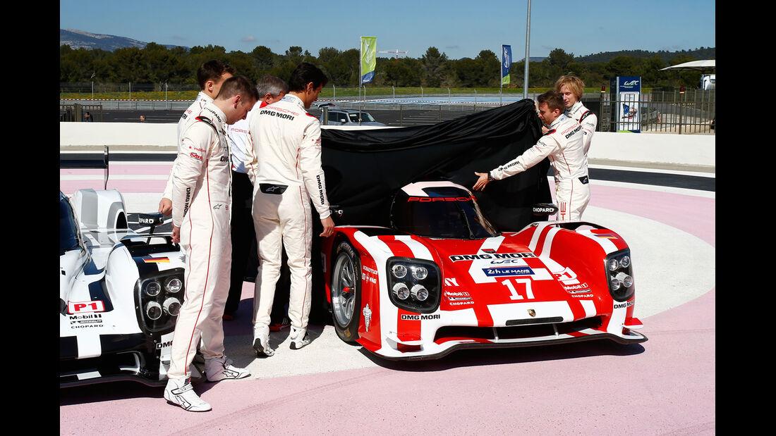 Porsche 919 - WEC - Präsentation - 2015