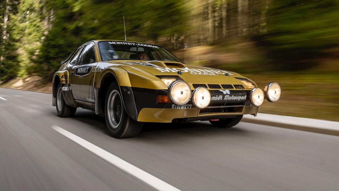 Porsche 924 Carrera GTS Rallye - Walter Röhrl - Restauration - 2021