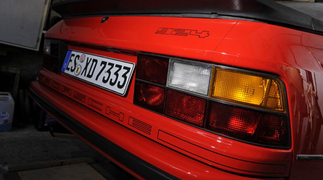 Porsche 924, Detail, Hecklichter