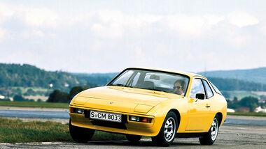 Porsche 924, Frontansicht