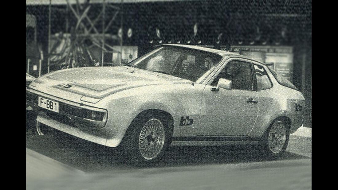 Porsche, 924, IAA 1977