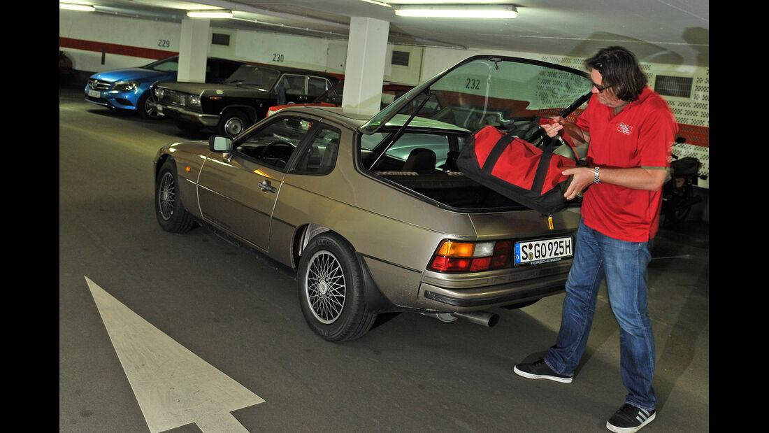 Porsche 924, Kofferraum