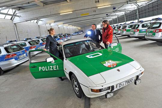 Porsche 924, Polizei