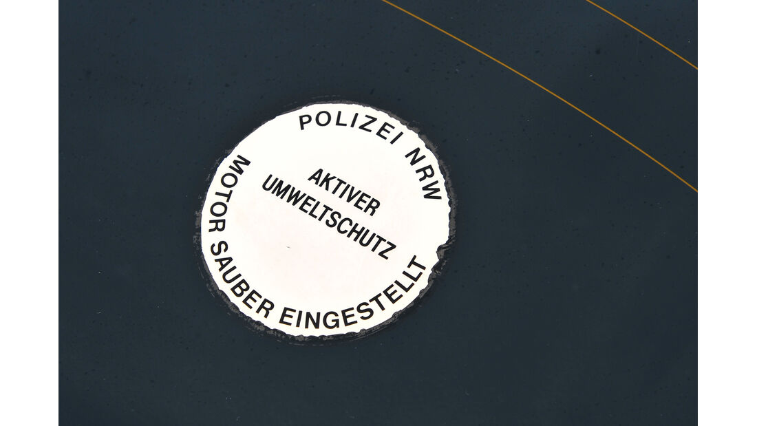 Porsche 924, Polizeiwagen
