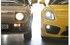 Porsche 924, Porsche Cayman S, Frontscheinwerfer