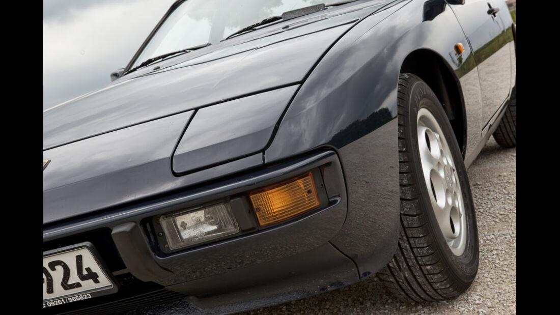 Porsche 924 S, Baujahr 1986, Klapp-Scheinwerfer