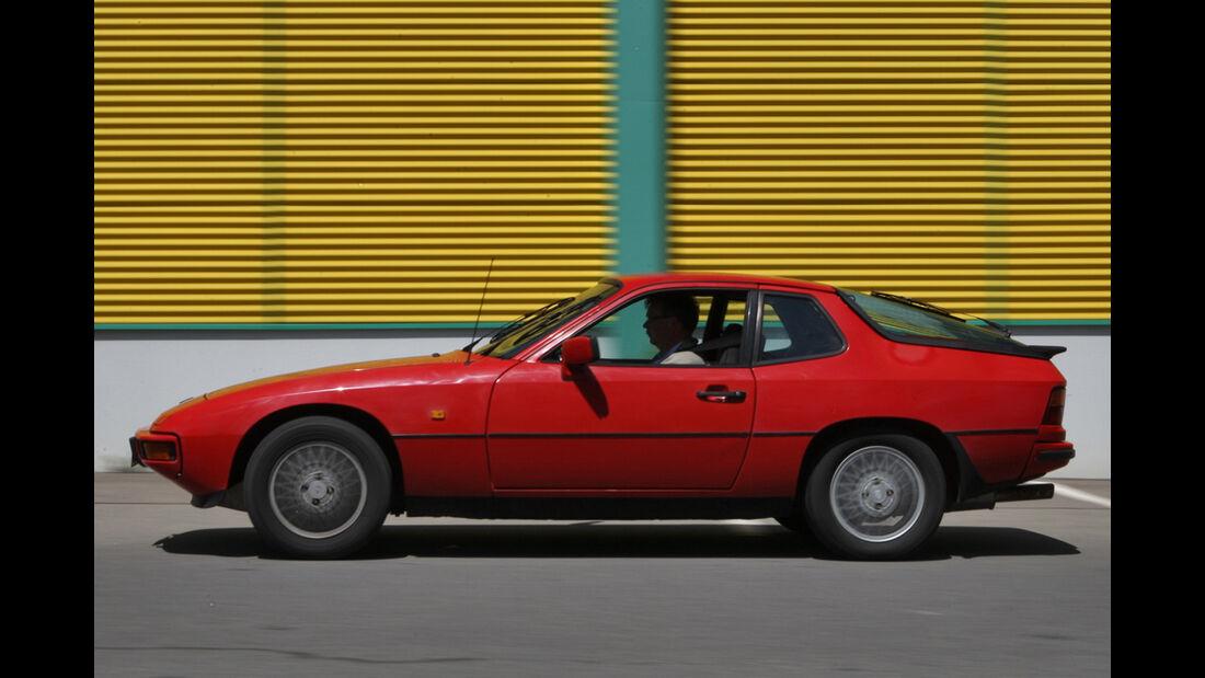 Porsche 924 Seitenansicht