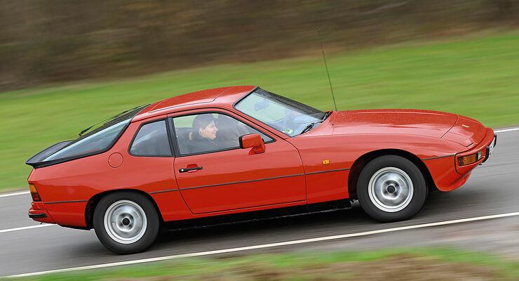 Porsche 924, Seitenansicht