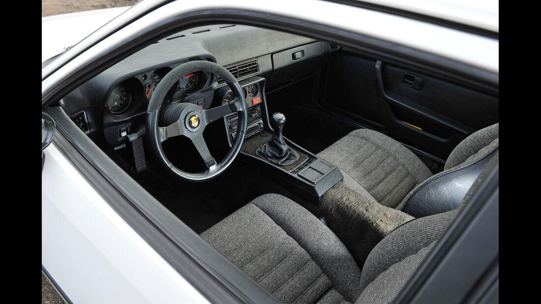 Porsche 924 Turbo, Cockpit