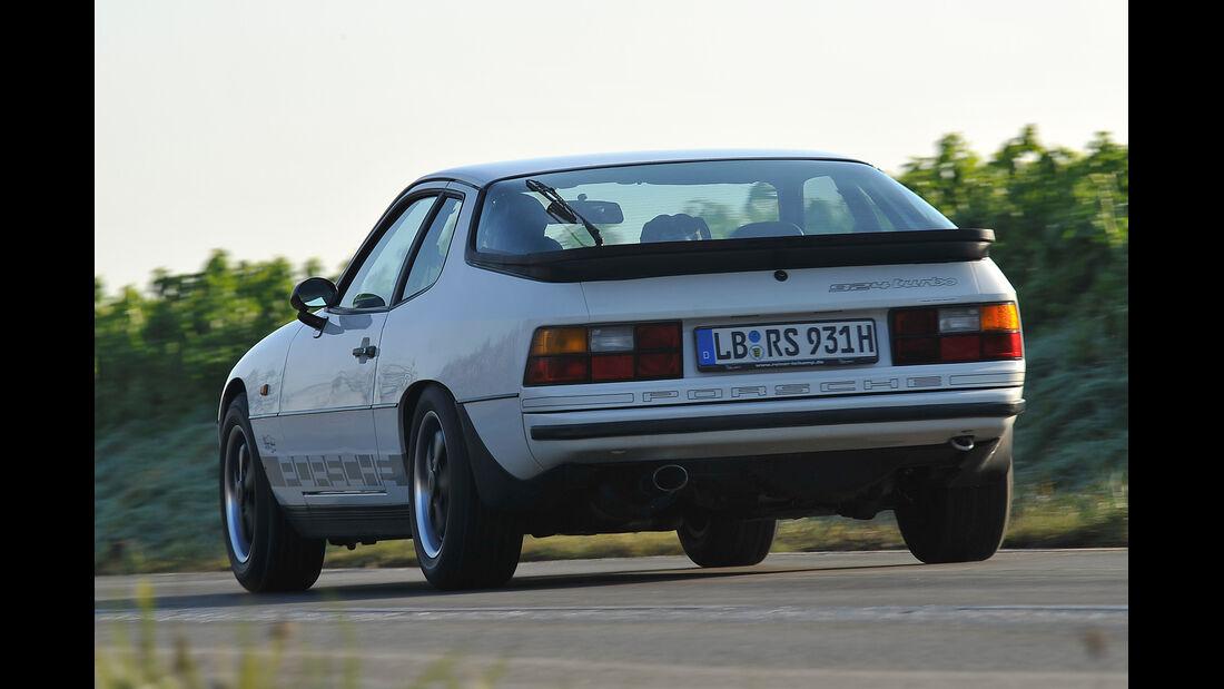Porsche 924 Turbo, Heckansicht