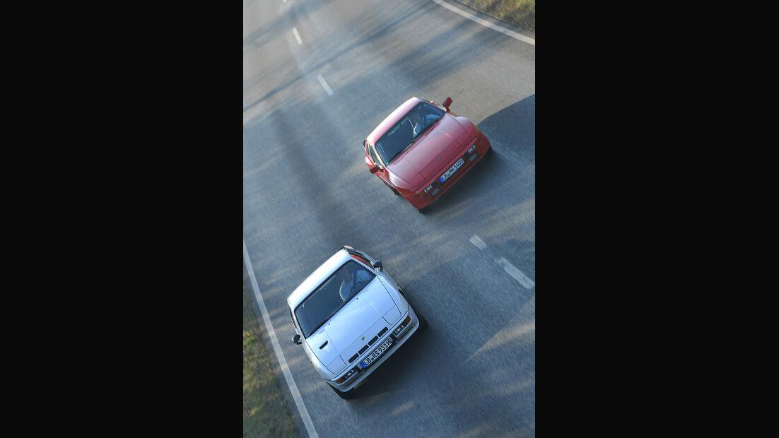 Porsche 924 Turbo, Porsche 944, Frontansicht