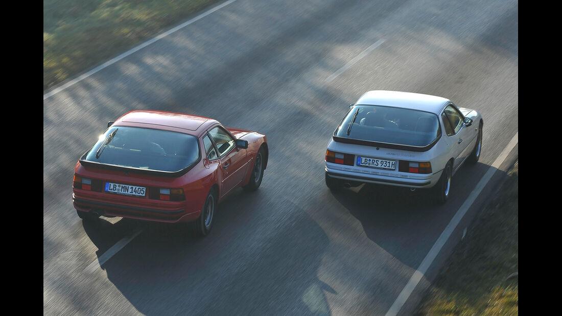 Porsche 924 Turbo, Porsche 944, Heckansicht