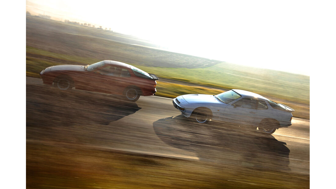 Porsche 924 Turbo, Porsche 944, Seitenansicht