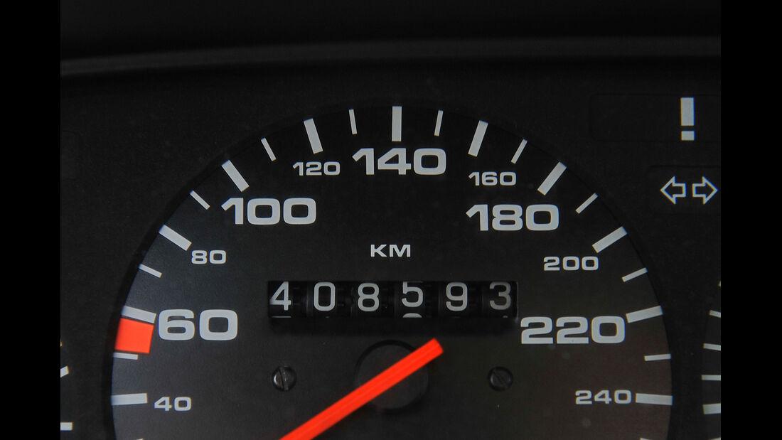 Porsche 924 Turbo, Porsche 944, Tacho