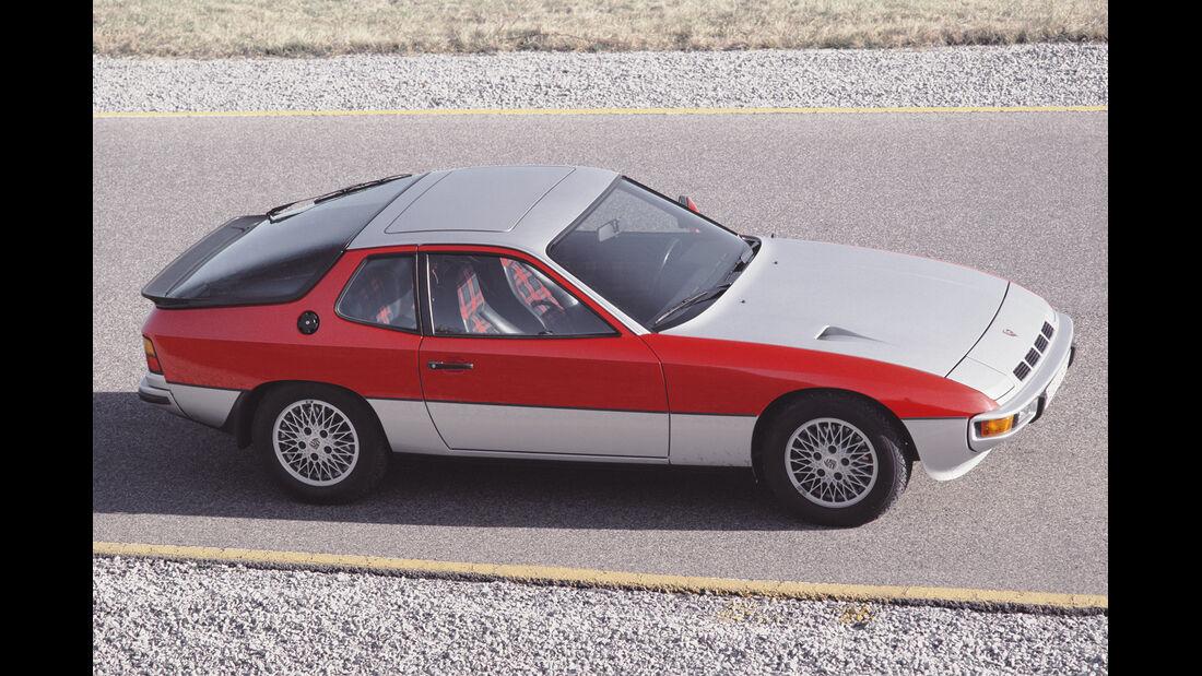 Porsche 924 Turbo, Seitenansicht