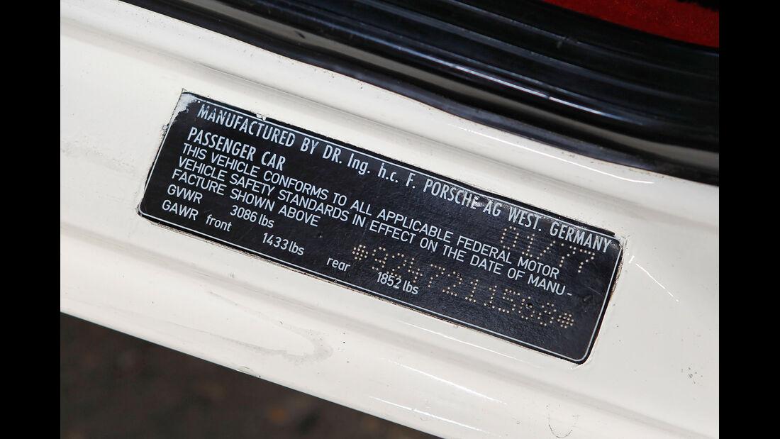 Porsche 924 Weltmeister, Martini, Plakette