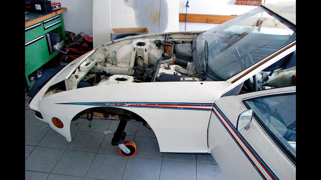 Porsche 924 Weltmeister, Martini, Restaurierung