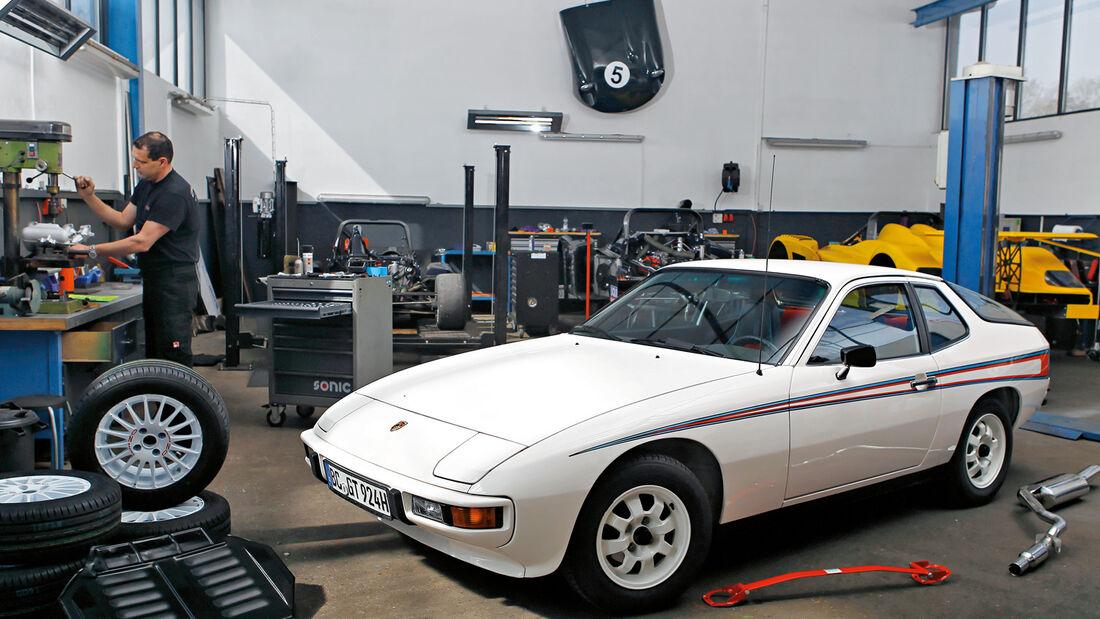 Porsche 924 Weltmeister, Martini, Seitenansicht