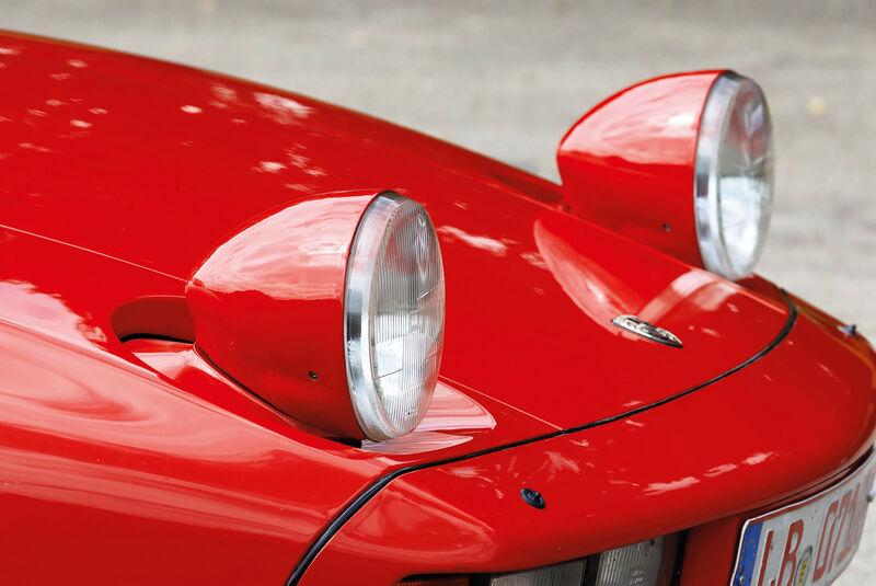 Porsche 928, Frontscheinwerfer