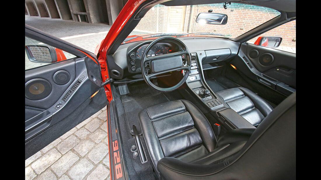 Porsche 928 GT, Cockpit, Sitze
