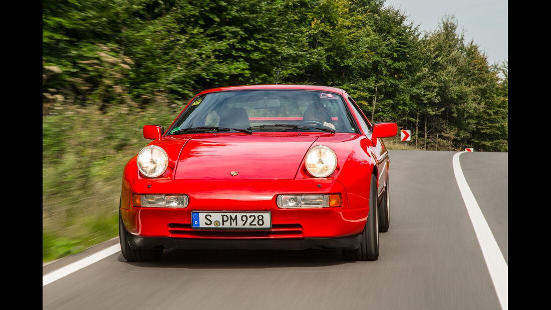 Porsche 928 GT, Frontansicht