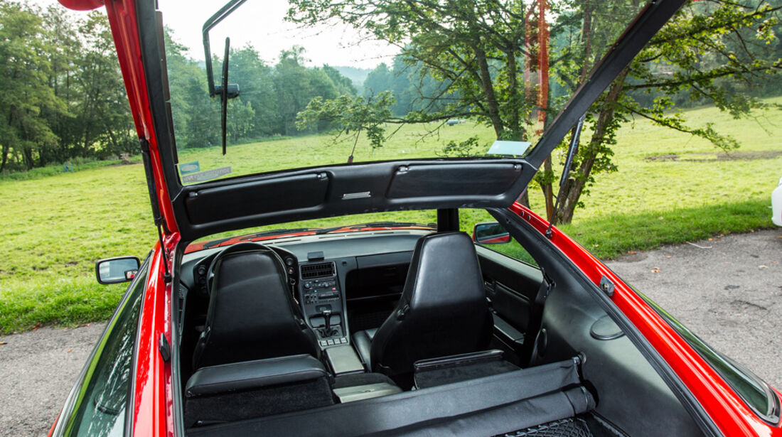 Porsche 928 GT, Heckklappe
