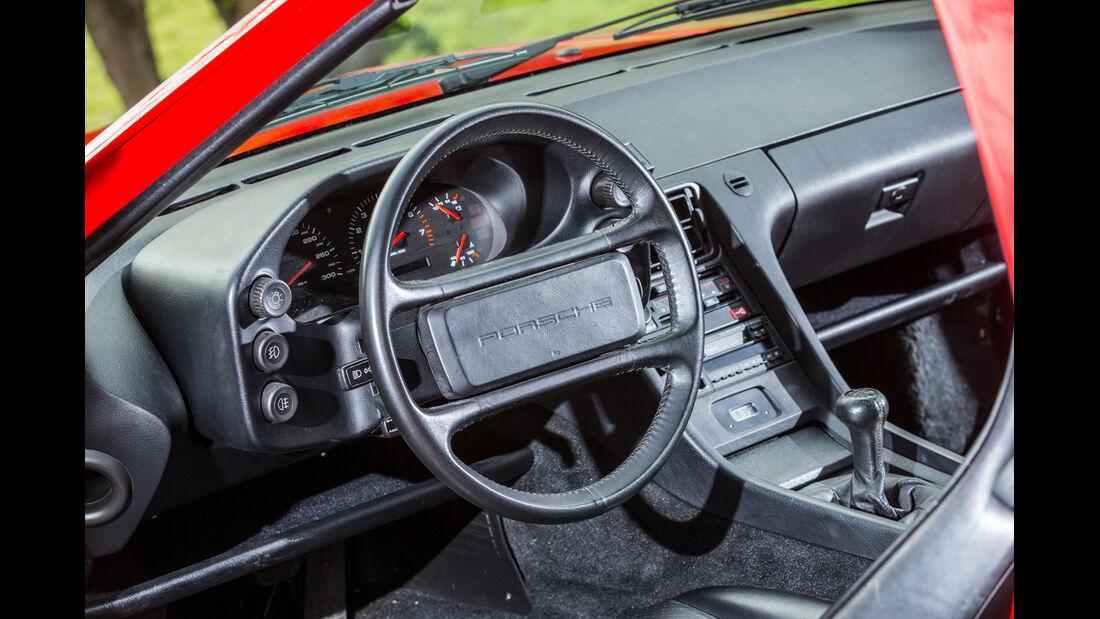 Porsche 928 GT, Lenkrad