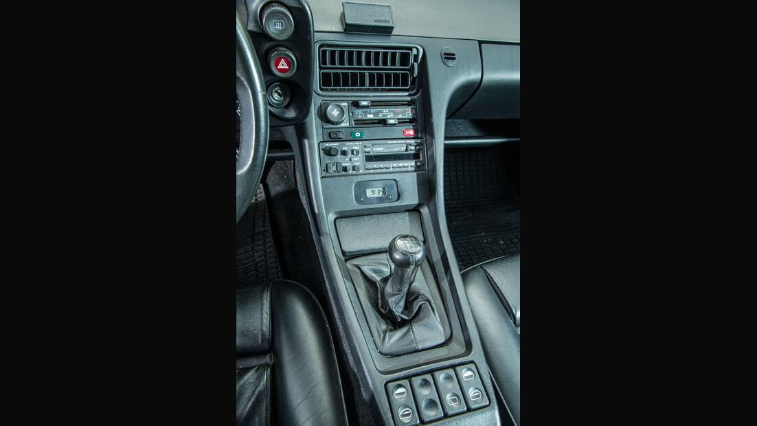 Porsche 928 GT, Mittelkonsole