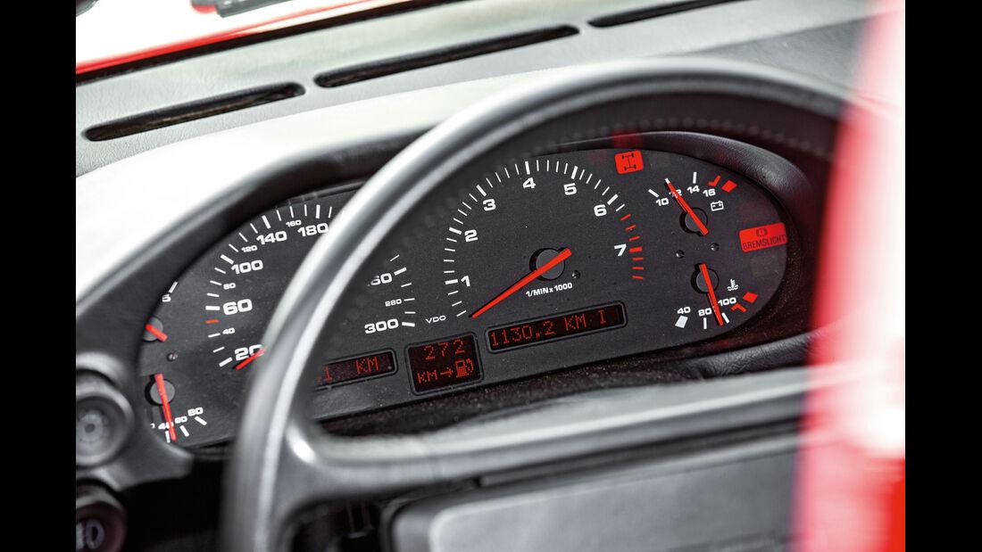 Porsche 928 GT, Rundinstrumente