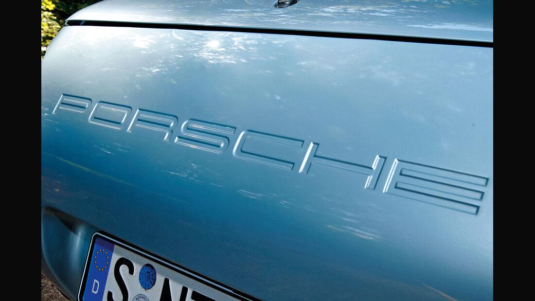 Porsche 928, Heck