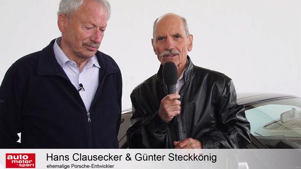 Porsche 928 Interview Hans Clausecker Günter Steckkönig