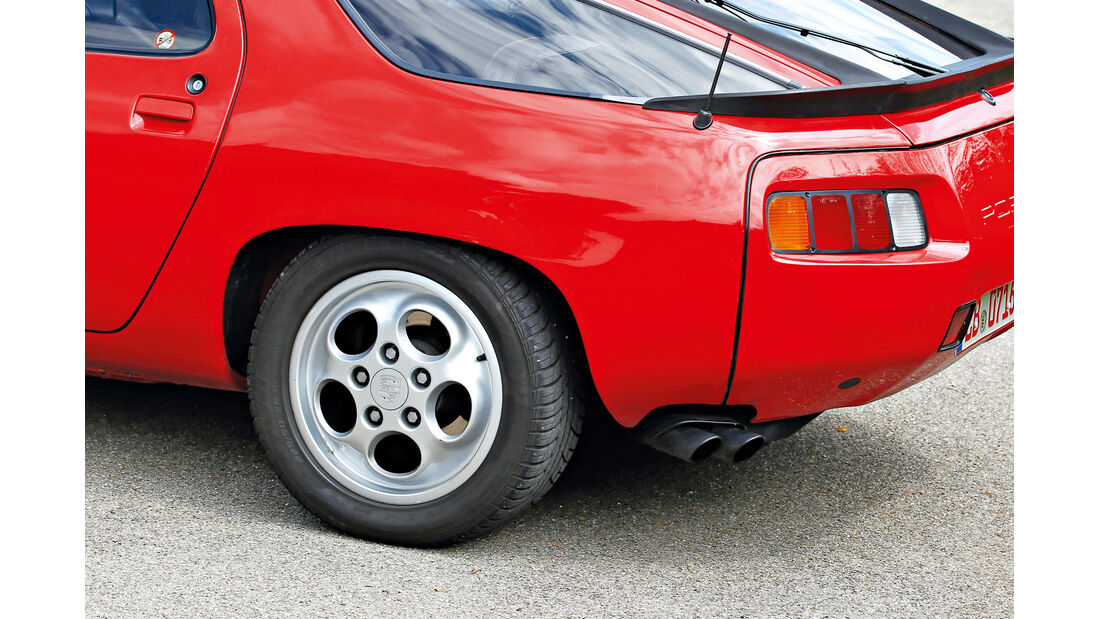 Porsche 928, Rad, Felge