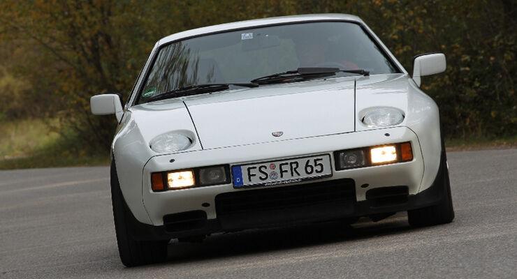 Porsche 928 S, 1983, Front