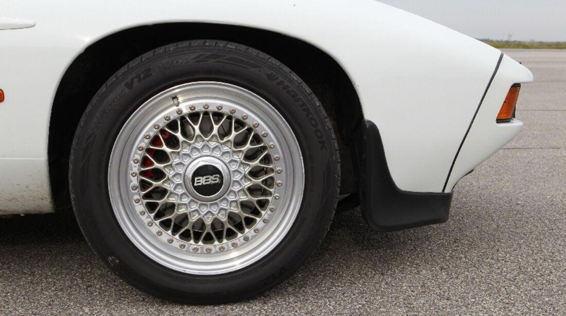 Porsche 928 S, 1983, Reifen, Felge, Detail