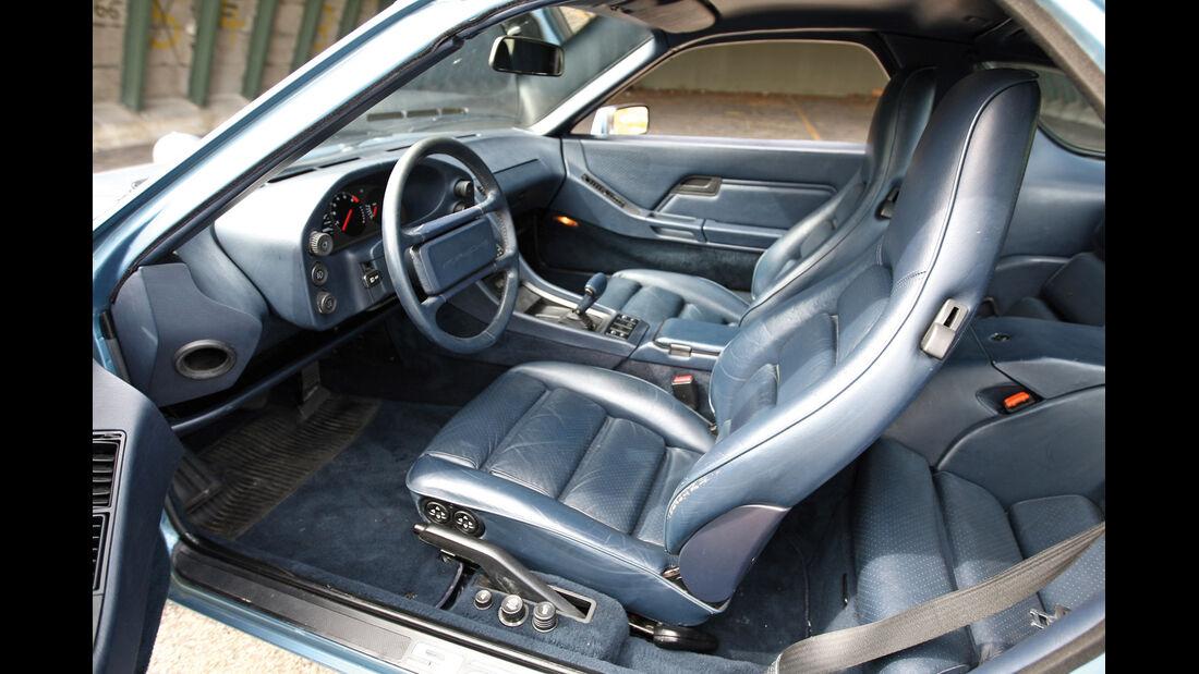 Porsche 928 S, Fahrersitz