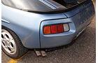 Porsche 928 S, Heckleuchte, Endrohre